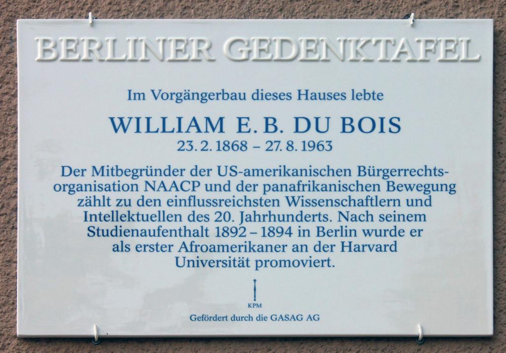 Du Bois Memorial Berlin
